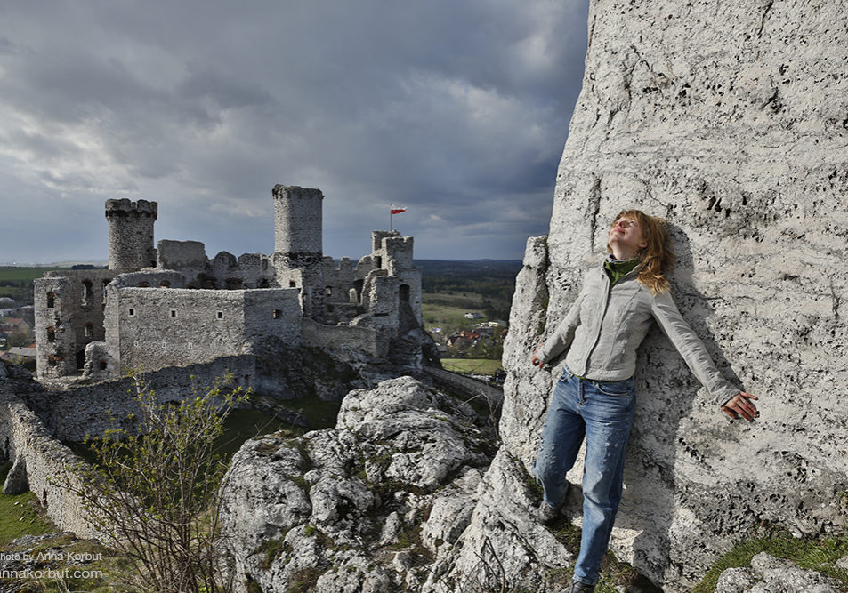 Ogrodsieniec castle, Poland by Anna Korbut